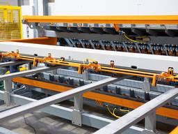 Автоматическая линия для производства сварных сеток заборов
