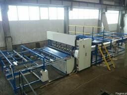 Автоматическая сварочная линия для производства сетки.