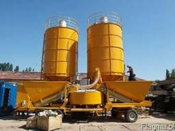 Бетонный завод Мобильный 10-120 м3/час