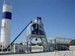 Быстромонтируемый бетонный завод F-130 (130 м3/ч) Швеция