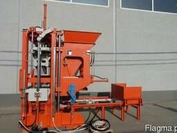 Блок-машина для производства тротуарной плитки, бордюров R300
