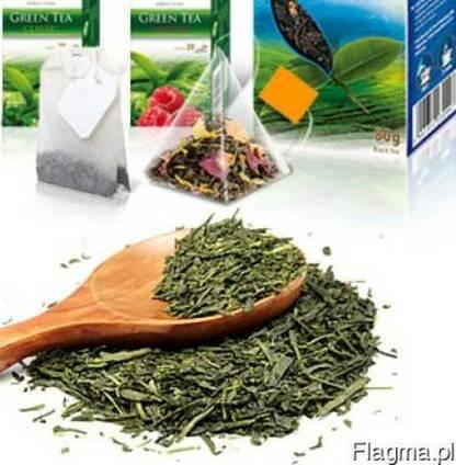 Чай фруктовый, зеленый, черный ароматизированный