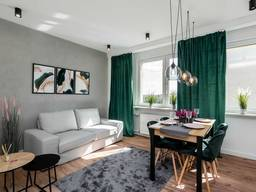 Cветлая 3-х комнатная квартира в тихом районе Кракова
