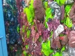 Цветная смесь ПЭТ-бутылок
