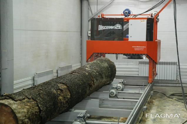 Двухдисковая угловая пилорама Discovery Next