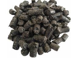 Granulki z łuski słonecznika (pellety)