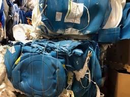 HDPE Drum scrap in bales