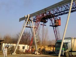 Изготовление кранов(мостовых, кран балок), монтаж, ремонт