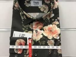 Koszule Męskie (Cyfrowy nadruk 80% bawelna 20% polyester)