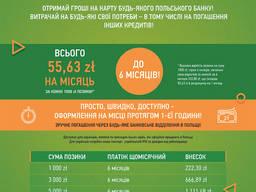 Кредиты до 5000 зл - без карты проживания, мин. формальности