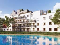 Купить квартиру в Варшаве, Бемово. 75м2, свой участок 38м2