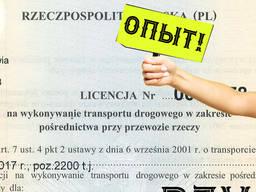 Лицензия экспедитора в Польше. Экспедиционная компания. Spedytor. Опыт. Варшава