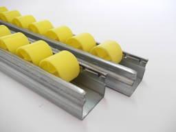 Роликовая дорожка / шина тип 726/33 мм для гравитационных полочных стеллажей