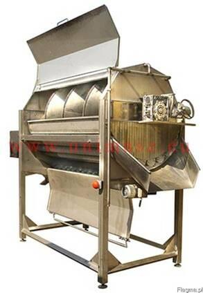 Машина для абразивной чистки овощей, корнеплодов (корундовая