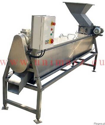 Машина для полировки замороженных ягод (установка для полиро