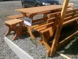 Мебель деревянная для дачи - фото 2