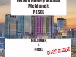 Meldunek, Pesel, Прописка, Умава найму Люблин
