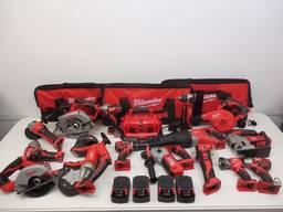 Milwaukee M18 2695 15-częściowe zestawy narzędzi bezszczotkowych