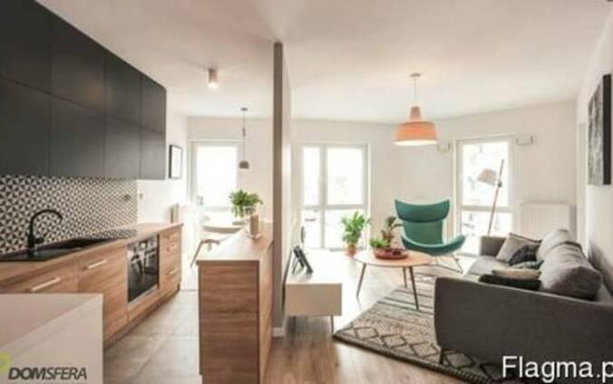 Новая 2-ком квартира 2017 с террасой во Вроцлаве, Польша