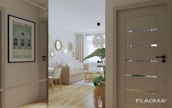 Новая квартира с хорошим потенциалом