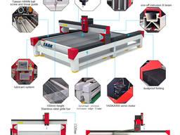 Оборудование для гидроабразивной резки с ЧПУ