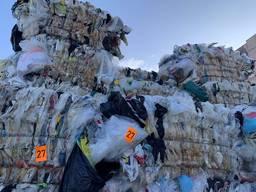 Odpady folii polietylenowej