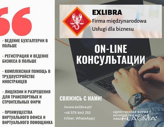 ON-LINE консультации по бизнесу и не только