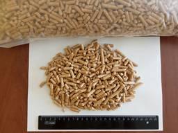 Пеллеты топливные, 6 мм, зольность до 0,5%