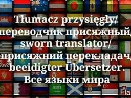Перевод с украинского/русского/белоруского языка на польский