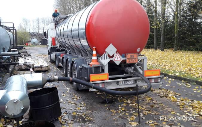 Перевозка битума в Польшу