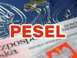 Pesel, прописка