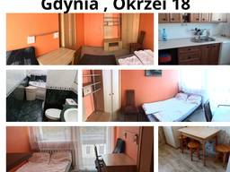 Pokój dla pary w Gdyni