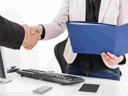 Помощь в открытии банковского счета для юридических лиц.