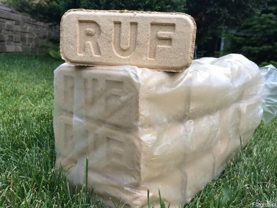 Топливный древесный брикет RUF.