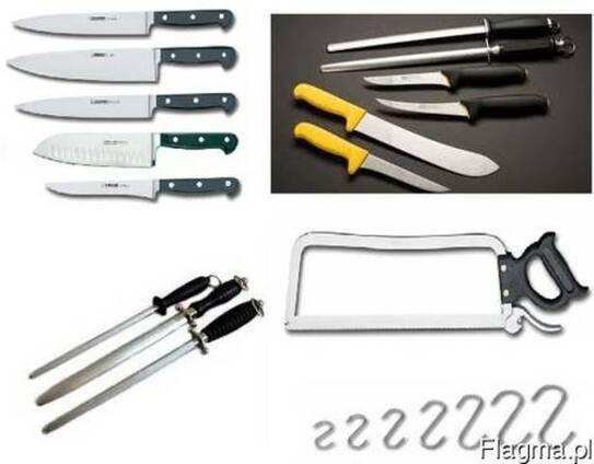 Profesjonalne noże, stalki, ostrzałki, piły, tasaki, topory