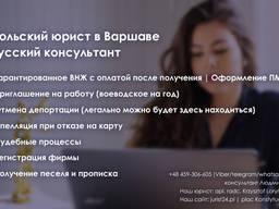 Профессиональная правовая помощь от Польского юриста.