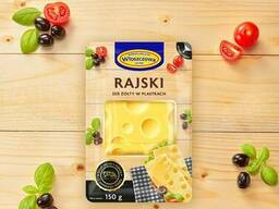 Rajski Cheese slices