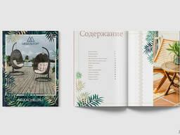 Разработка дизайна листовок, буклетов, брошюр, сертификатов