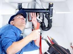 Сантехник, монтаж водопровода, канализации, отопления и прочее