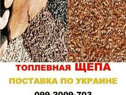 Щепа топливная сосна UA