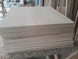Щит клееный мебельный из дуба