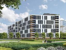 Современный квартирный комплекс в Мокотове Варшава