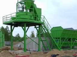 Stationary concrete batching plant SUMAB T-100