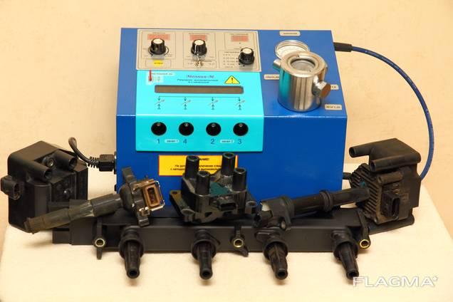Стенд проверки свечей под давлением, модулей и катушек зажи