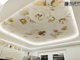 Sufity napinane / LED oswietlenie / Projekt, montaż i serwis