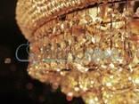 Светильник плафон Norman 106 см хрусталь - фото 2