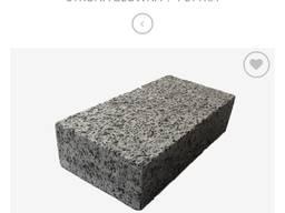 Szara kostka granitowa - Cieta płomieniowana 10x20x5 cm !