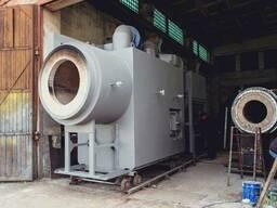Теплогенератор твердотопливный 10 МВт. , от 0,8 до 20 МВт.