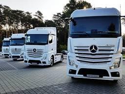 Транспортная компания в Польше с двумя грузовиками!!!
