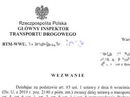 Транспортный инспекторат - консультации. Письма. Опыт. Варшава. Не посредник. Рекомендации